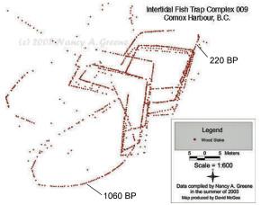 Comox fishtrap diagram