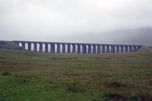 7-2-16 Famous stone railroad bridge on way to Wensleydale Creamery 2