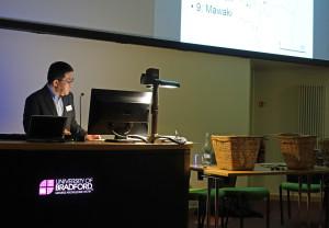 6-29-16  Naoto Yamamoto gives talk on Wooden Circles WARP30  2