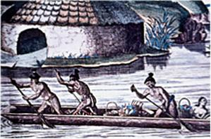 Purdy historic canoe